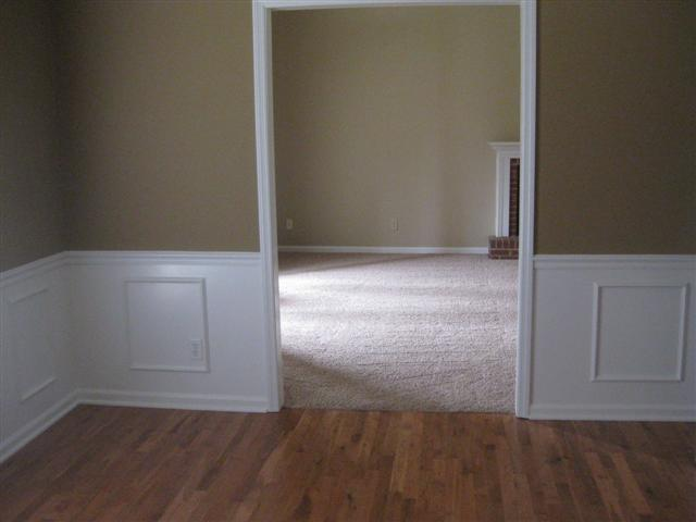 formal dining into great room
