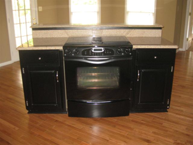 kitchen stove, island hardwoods