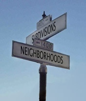 Huntsville Neighborhoods and Subdivision Sign