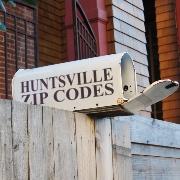 Huntsville Zip Code Map