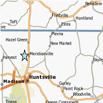 Merdianville Real Estate Map