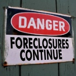 Foreclosures Will Continue