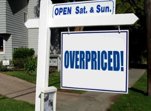 Overpriced Huntsville Real Estate